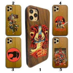 ThunderCats Wooden Case Galaxy s20 s10 S9 plus Note 20 10 9 Ultra wood SN180