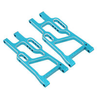 2x Rear Lower Suspension Arms 106021 For RC 1/10 HSP Redcat Upgrade Parts Blue