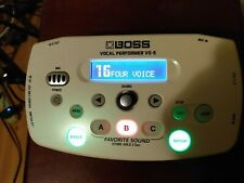 BOSS VE-5 Vocal Performer Mobile Live Effects Processor Looper White