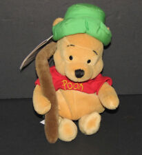 Disney Winnie the Pooh Mini Bean Bag Fishing Pole 8 Inches NWT