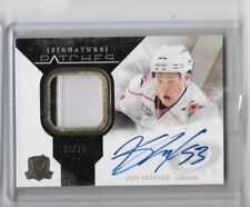 JEFF SKINNER 2010-11 UD CUP SIGNATURE PATCHES 2CL.PATCH & AUTOGRAPH #/75-ROOKIE