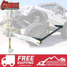 Currie AntiRock Front Sway Bar Kit Aluminum Arms & Steel Mounts Jeep Wrangler JK