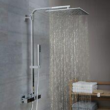 Schütte Duschsystem Sumba Thermostat Duscharmatur Regendusche Duschpaneel Chrom