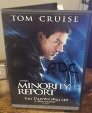 """Minority Report (Dvd, 2002, 2 Disc Full screen) Tom Cruise The """"Rdc"""" Collection"""
