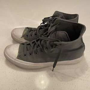 Chuck Taylor Converse All Star Il Grey Canvas Shoes Mens 9 Women's 11