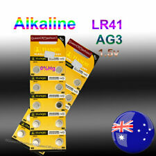 20 x LR41 Battery QueenOf7 1.5V Alkaline AG3 Blister Button Cell Batteries