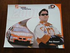 2001 NASCAR Tony Stewart Hero Fan Card