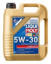 5l 5 Litros LIQUI MOLY Longlife 5w-30 ACEITE DE MOTOR VW BMW Porsche Mercedes