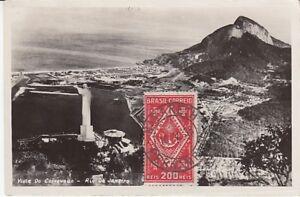 Ansichtskarte Brasilien  Rio De Janeiro  Vista Do Corcovado  1935