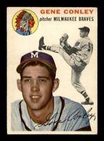1954 Topps Set Break # 59 Gene Conley EX *OBGcards*