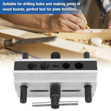 Woodworking Doweling Jig Tool Metal Drill Dowel Hole Self Centering Locator Diy