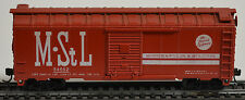 Athearn 40' PS-1 Steel Boxcar - M&StL with paper flooring & KD5s