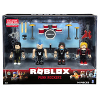 SEALED ROBLOX Celebrity Figure Accessories PUNK ROCKERS Core 4 Pack