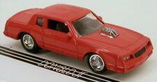 Johnny Lightning '84 Chevrolet Monte Carlo SS Orange-Red (1983-1988 Body Style)