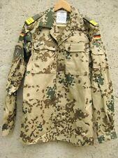 ISAF KFOR NATO-OTAN BW Feldjacke Wüstentarn Vektorenschutz Tropen 3-Farben Gr.12