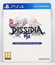 FINAL FANTASY DISSIDIA NT SPECIAL STEELBOOK EDITION PLAYSTATION 4 PS4 PAL ESPAÑA