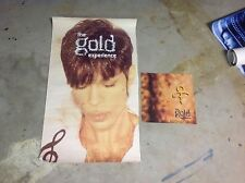 Lp Cd Prince Promo Poster & 12x12. flat gold experience As Is 1999 music!