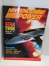 Nintendo Power Star Trek! Magazine Volume 29 With Poster attached!