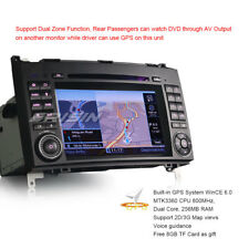 Mercedes Autoradio DAB+ GPS Win8 A B Class W169 W245 Sprinter Crafter DVD 7270GD