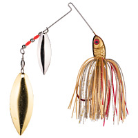 Strike King Spinnerbait (BB12WW-315SG) Bleeding Gold Shiner 1/2oz Fishing Lure