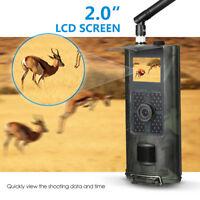 Hunting Camera 16MP 1080P Night Vision Trail Cam Trap 2G GPRS MMS SMS New P8N4