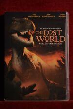 THE LOST WORLD DVD Eric McCormack, John Rhys-Davies NEW Region 1 Collector's Ed.