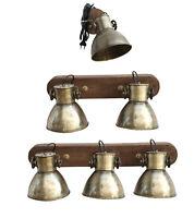 Hängelampe Deckenlampe Deckenspot Deckenstrahler Spot Lampe Vintage Retro gold