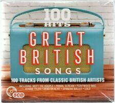 100 Hits Great British Songs  - Various Artists (CD 2017) Original CD New