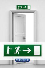 Notausgangsschild »Zombie Version 2« NEU Zombies Emergency Exit Sign auf Lager