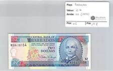 BILLET BARBADES - 2 DOLLARS (1995)