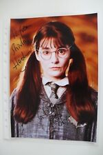 Autogramm Shirley Henderson Harry Potter original autograph signed Groß