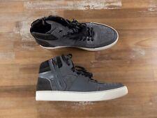 LANVIN Paris high top bluish gray sneakers authentic Size 13 US / 46 EU / 12 UK