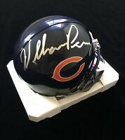 William Perry Chicago Bears Signed Autograph Mini Helmet JSA COA