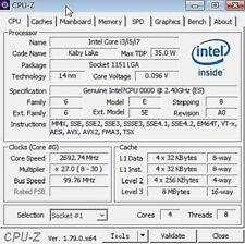 Intel core I7 7700T ES QKYL 2.4GHz 4Core 8threads 35W LGA1151 Processor CPU