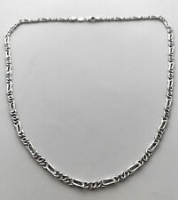 UNISEX CHAIN NECKLACE MADE BY MANCINI 18K WG 12.1 GR, APPR. RETAIL USD $1,750.00