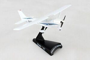 Cessna 172 Skyhawk 1/87 Scale Diecast Metal Model