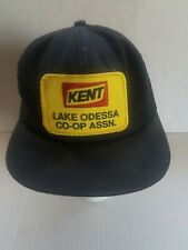 Mesh Snapback Patch Trucker Hat K BRAND, KENT FEEDS LAKE ODESSA CO-OP ASSN.