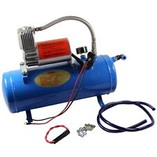 AIR COMPRESSOR WITH 6 LITER TANK 150PSI DC 12V FOR TRAIN HORNS MOTORHOME TIRES