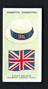 HIGNETT - INTERNATIONAL CAPS AND BADGES - #2 GREAT BRITAIN, OLYMPIC GAMES, 1924
