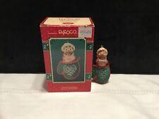 "1994 Enesco Christmas Ornament Sweet Greetings ""Mom� baking #595578"