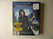 Underworld: Awakening (Blu-ray/DVD, 2012, 3D) NEW w/lenticular slipcover