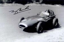 Tony Brooks Vanwall German Grand Prix 1957 Signed Photograph 2