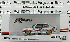 Tarmac Works 1:64 2019 Hobby64 BMW M3 E30 Macau Guia Race 1989 KAMACHI Pirro #2