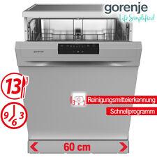 Geschirrspüler Spülmaschine 60cm Geschirrspülmaschine Stand Silber Spüler NEU