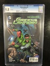 GREEN LANTERN # 8 Variant Cover! / The New 52! / CGC 9.8 / June 2012 / DC COMICS