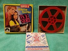 "Vintage Super 8mm Film  ""Love Story"" P207 Ryan O'Neal Ali McGraw"