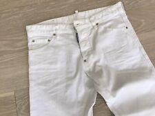 DSquared2 White Denim Jeans (Size 50) Excellent Condition