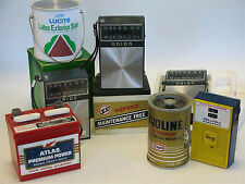 Lot of Vintage AM/FM Radios Gas Oil Paint themed Sunoco Dupont Union 76 Pride