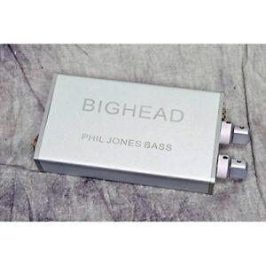 PJB Phil Jones Bass BigHead Portable Headphone Amplifier Silver Japan