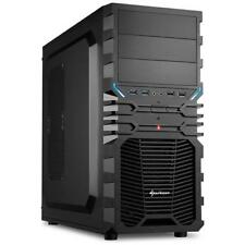 SHARKOON Case VG4-V Middle-Tower ATX / Micro-ATX / Mini-ITX Colore Nero